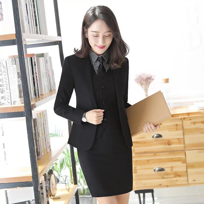 女性职业装套裙时的注意点