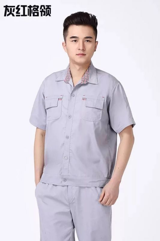 夏季车间领班东莞工作服什么款式好?