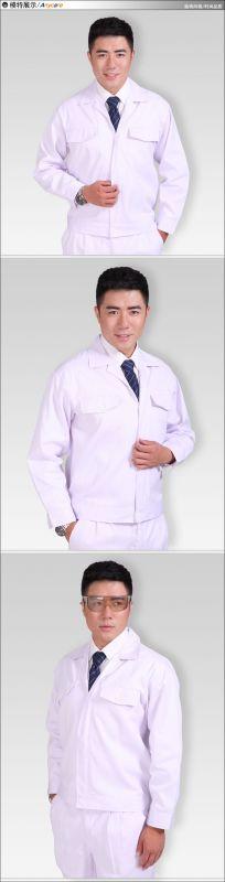 医疗食品卫生男式工装套装