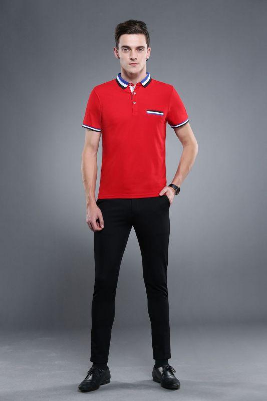 高尔夫球服T恤厂家动作东莞工作服工衣POLO衫文化衫印字