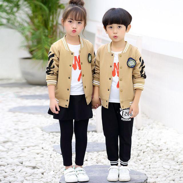 秋季新款幼儿园园服 春秋装小学生校服 英伦风班服儿童纯棉运动套装