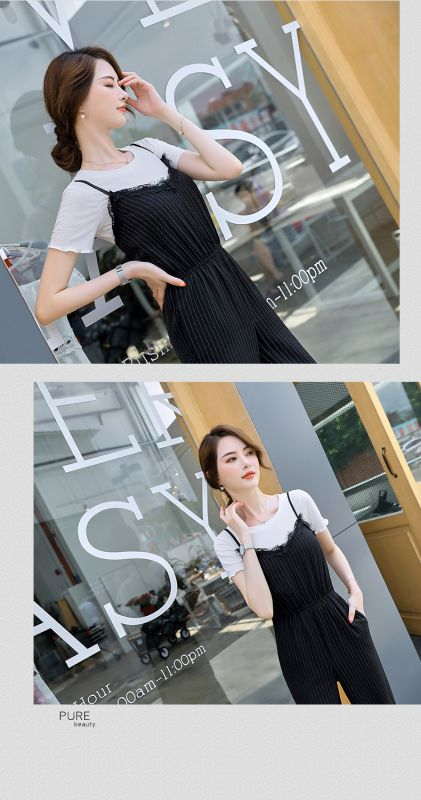 职业名媛 小香风修身 西装 夏季套装女2018新款时尚气质休闲ol两件套